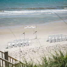 Photo of Honeysuckle Events in Wilmington, NC - Rebecca set up the arbor, which was PERFECT!