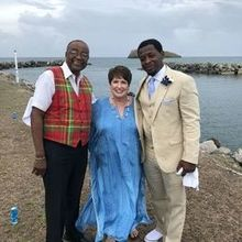 Photo for Performing the Wedding Review - Bill Bass the Pan Man, Reissa Leigh & the Groom Mr. Thomas