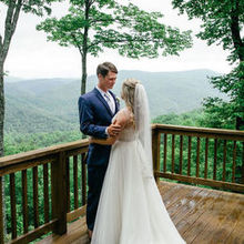 Photo of Leatherwood Mountains in Ferguson, NC - Reveal picture at Cloud Nine cabin.  What a view!