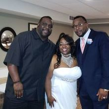 Photo of Double-E Entertainment in Frederick, MD - DJ Ty, Bride and Groom