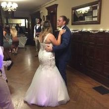 Photo of Tarrywile Park & Mansion in Danbury, CT - Kellen and Chrissy dancing in the foyer.