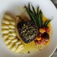Photo for Jedediah Hawkins Inn Review - Filet Mignon. Everyone received perfect med rare!