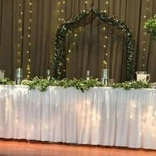 Photo of Graceful Wedding Company in Akron, OH - our botanical head table. everything so fresh! very pleased!