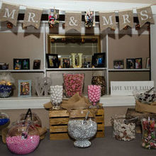 Photo for Bricello's Caterers Review - Candy Bar. Loved picture window for personal touch details