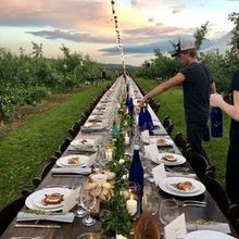 Photo of Alyson's Orchard in Walpole, NH - Orchard dinner!