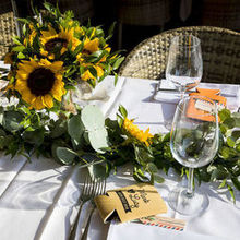 Photo for Romeo and Juliet - Elegant weddings in Italy Review - Some of the table decor