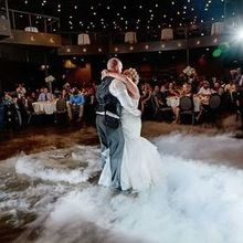 Photo of DJ Jer Events and Lighting Design in Tea, SD - Cloud dance was perfect touch for our first dance.