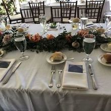 Photo for Crossed Keys Estate Review - Beautiful centerpieces. Loved the brown chairs.